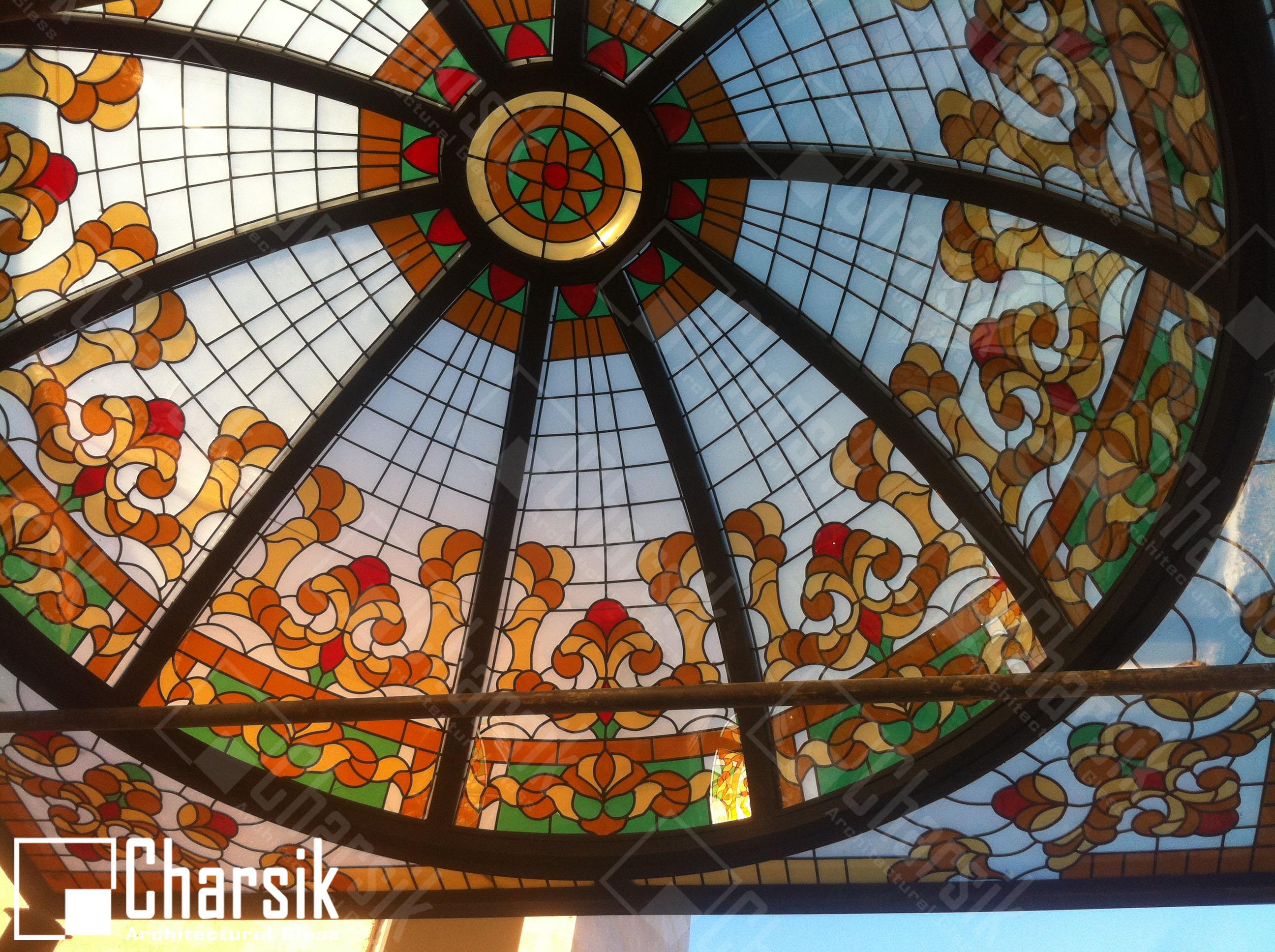 گنبد شیشه ای چارسیک اسفراین