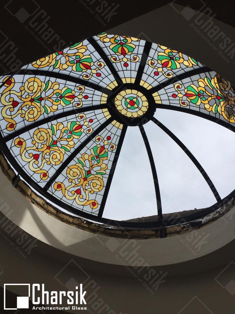 نورگیر سقفی دایره