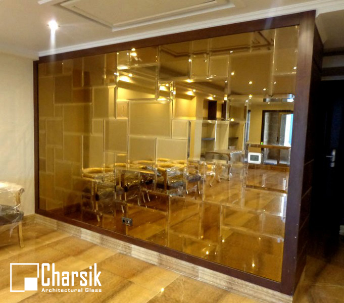 نکات مهم در انتخاب طرح و رنگ آینه تراشدار دیواری. چارسیک
