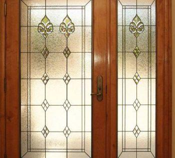 درب شیشه ای لابی. استیندگلاس