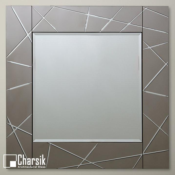 آینه دکوراتیو، طرح روژین چارسیک