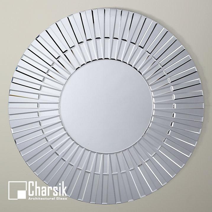 آینه دکوراتیو، طرح صدف واره چارسیک