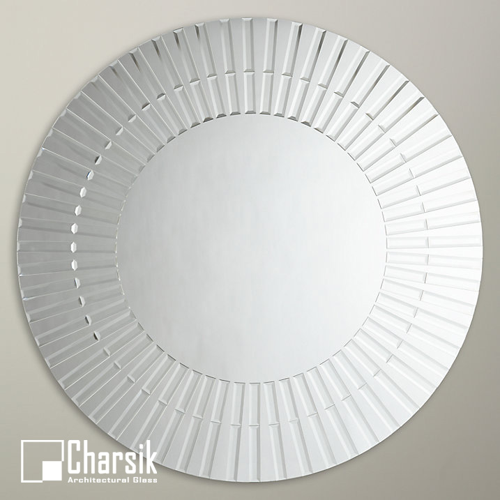 آینه دکوراتیو، طرح صدف چارسیک