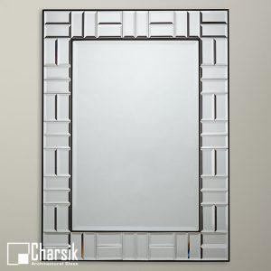 آینه دکوراتیو، طرح قاب آجری چارسیک