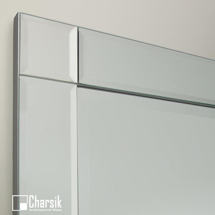 آینه دکوراتیو، طرح مینیمال چارسیک