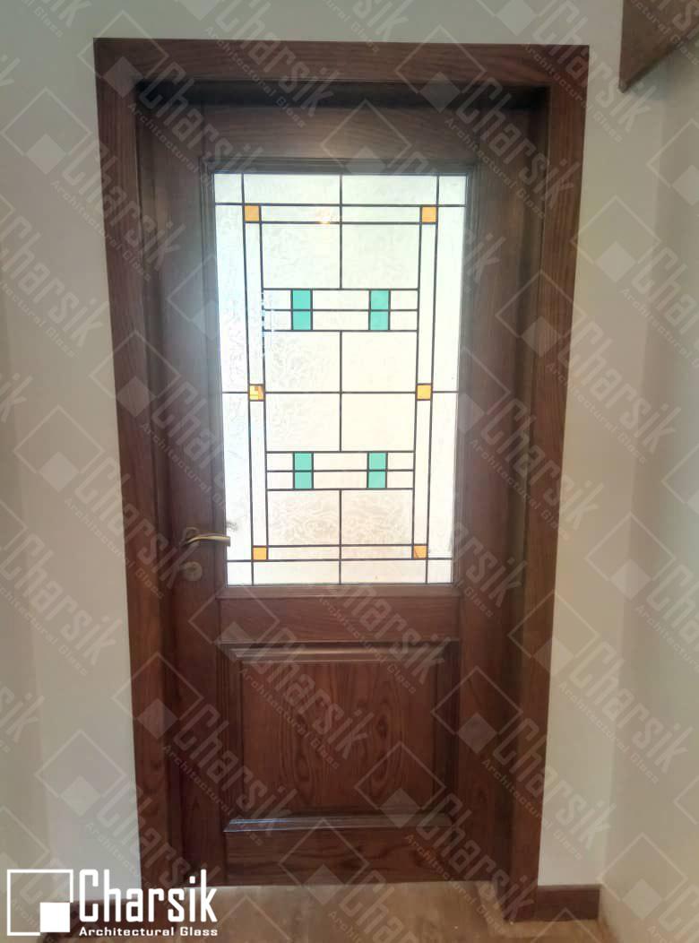 شیشه درب لابی