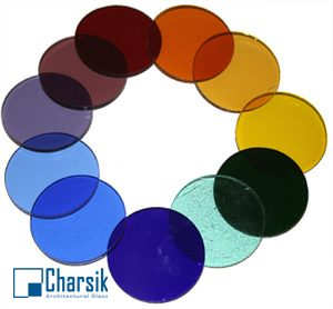 شیشه رنگی چارسیک