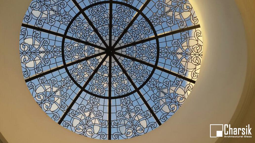 گنبد شیشه ای استیند گلاس (استیندگلاس). چارسیک (25)