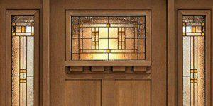 شیشه دکوراتیو درب ورودی و لابی
