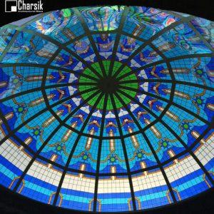 گنبد شیشه ای استین گلاس، طرح فیروزه