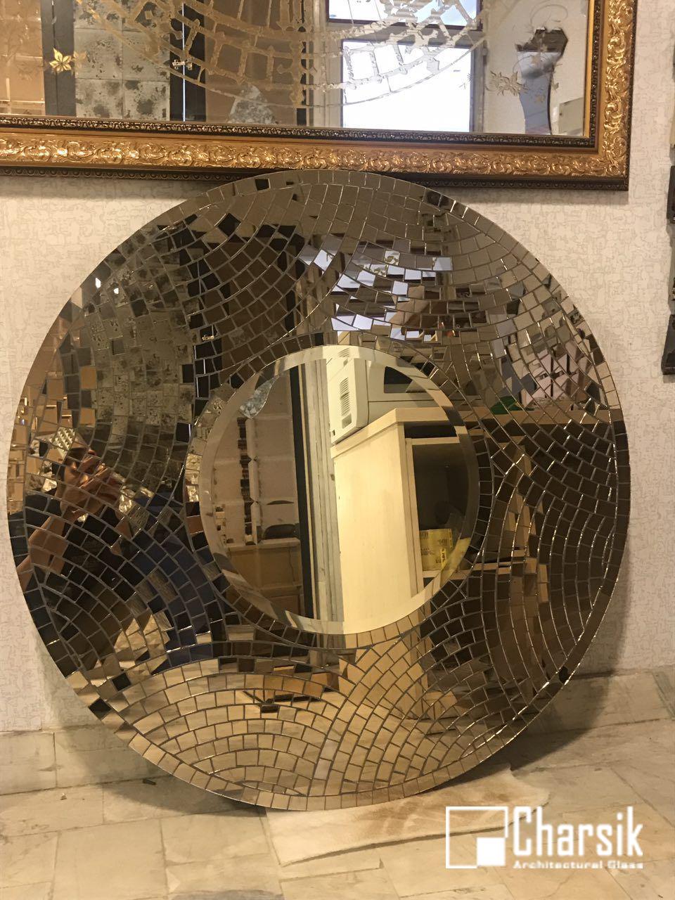 آینه دکوراتیو، طرح خانه بندی چارسیک