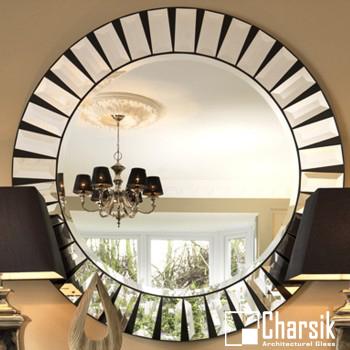 آینه دکوراتیو، طرح دایره چارسیک