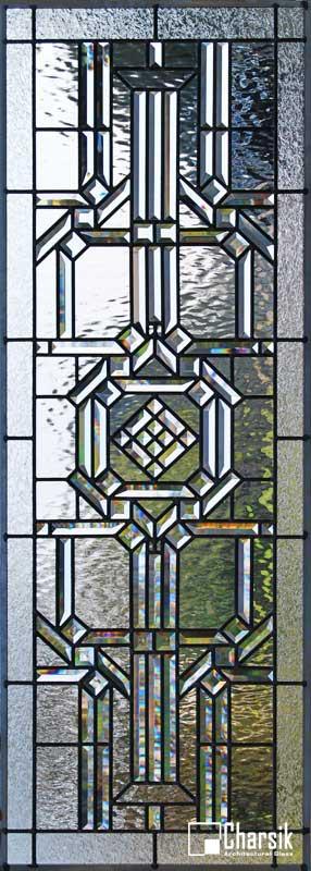 شیشه دکوراتیو پنجره، کد W16
