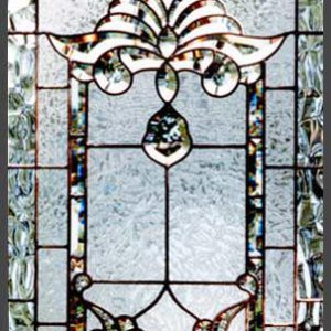 شیشه دکوراتیو پنجره، کد W12