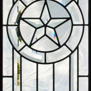 شیشه دکوراتیو پنجره، کد W15