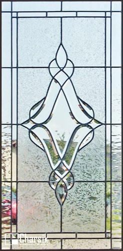 شیشه دکوراتیو پنجره، کد W11
