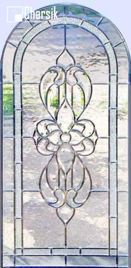 شیشه دکوراتیو پنجره، کد W13