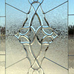 شیشه دکوراتیو پنجره، کد W14