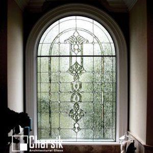 شیشه دکوراتیو پنجره، کد W02
