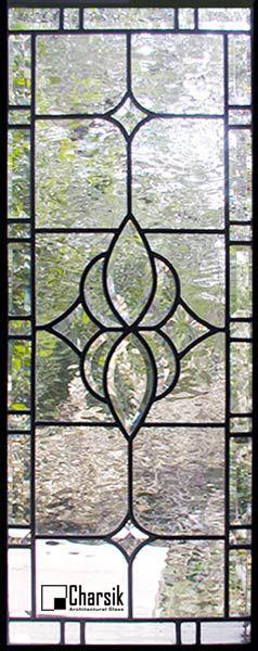شیشه دکوراتیو پنجره، کد W06