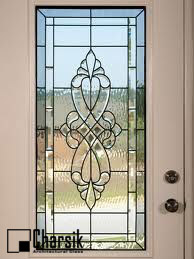 شیشه دکوراتیو پنجره، کد W05