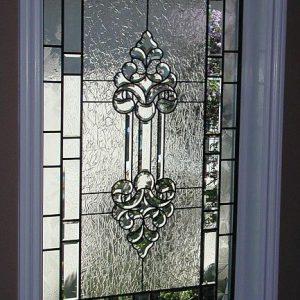 شیشه دکوراتیو پنجره، کد W01