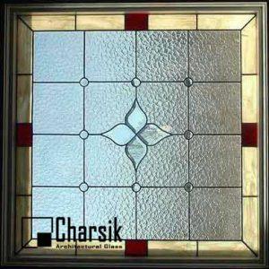 شیشه دکوراتیو پنجره، کد W18