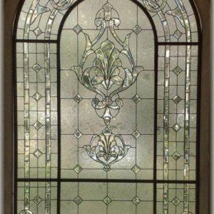 شیشه دکوراتیو پنجره، کد W09