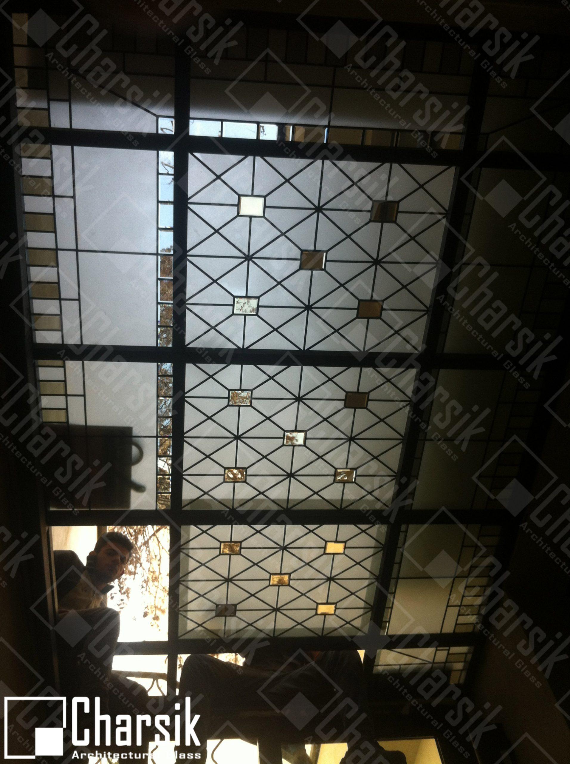 نورگیر سقفی تزئینی چارسیک