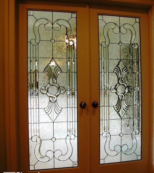 شیشه دکوراتیو درب لابی