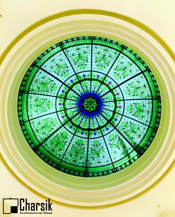گنبد شیشه ای استیندگلس، طرح بوته چارسیک