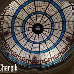 گنبد شیشه ای استیندگلس، طرح واران چارسیک