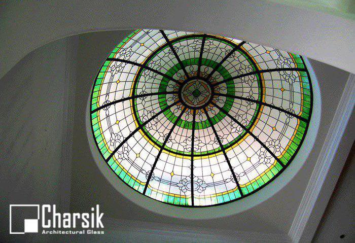گنبد شیشه ای استین گلاس، طرح آفتابگردان چارسیک