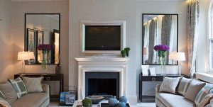آینه دیواری. از آینه در خانه استفاده کنید تا خانه را بهتر بفروشید