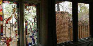 تاثیر شیشه های استیندگلس و تیفانی