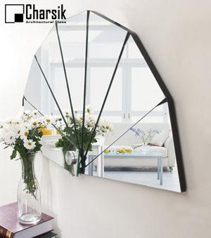 آینه دکوراتیو، طرح مثلث بندی چارسیک