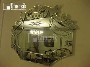 آینه ونیزی طرح فلورانس چارسیک