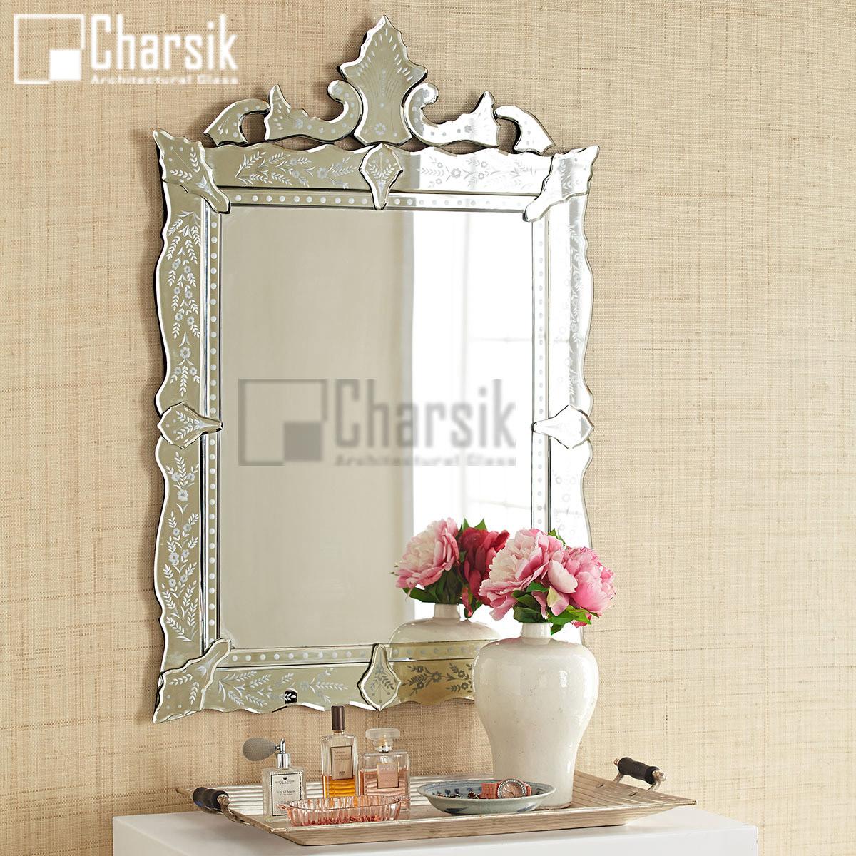آینه ونیزی طرح مونالیزا چارسیک