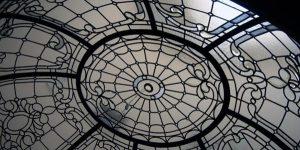 گنبد شیشه ای استیند گلس بر مبنای الگوهای معماری ایرانی