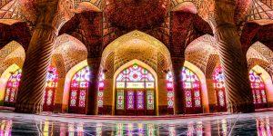 شیشه های مسجد نصیرالملک