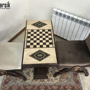 میز شطرنج و تخته نرد