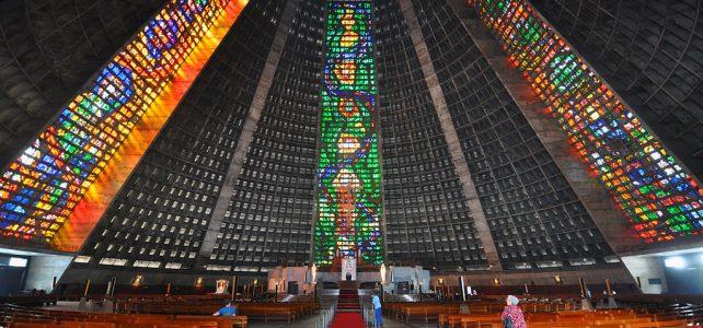 استیند گلس در کلیسای سنت سباستین، ریو دو ژانیرو