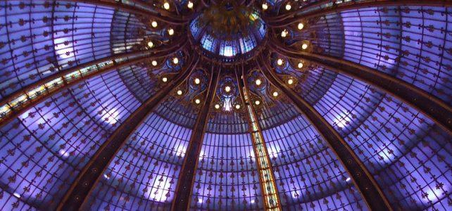 گنبد شیشه ای استیند گلس در گالری لافایت، پاریس