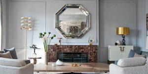 آینه شومینه