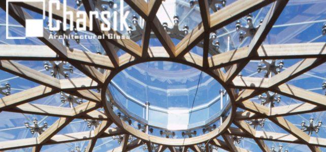 نقش شیشه در معماری