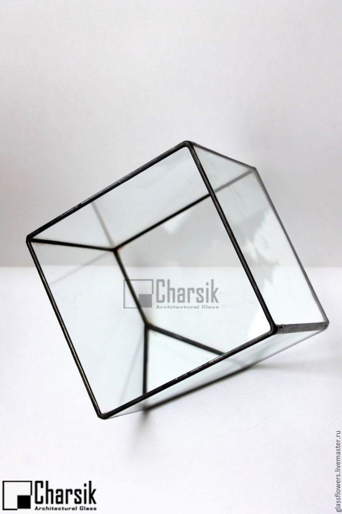 تراریوم شیشه ای تیفانی