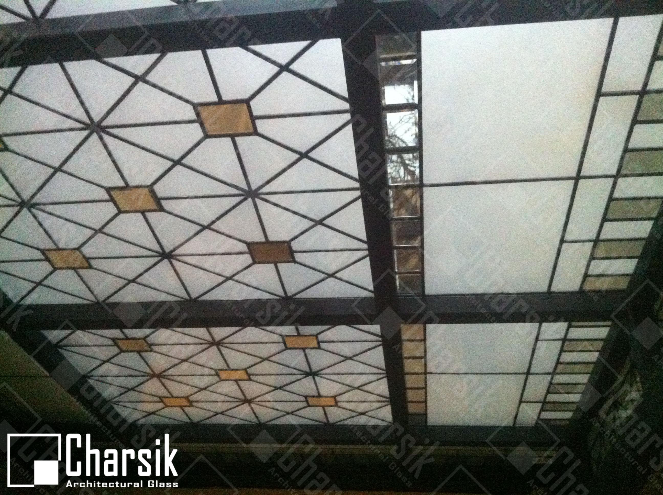سقف شیشه ای استین گلس چارسیک