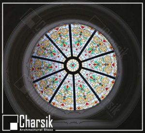 گنبد شیشه ای تزئینی