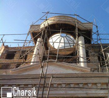 گنبد شیشه ای شفاف شهر ارومیه