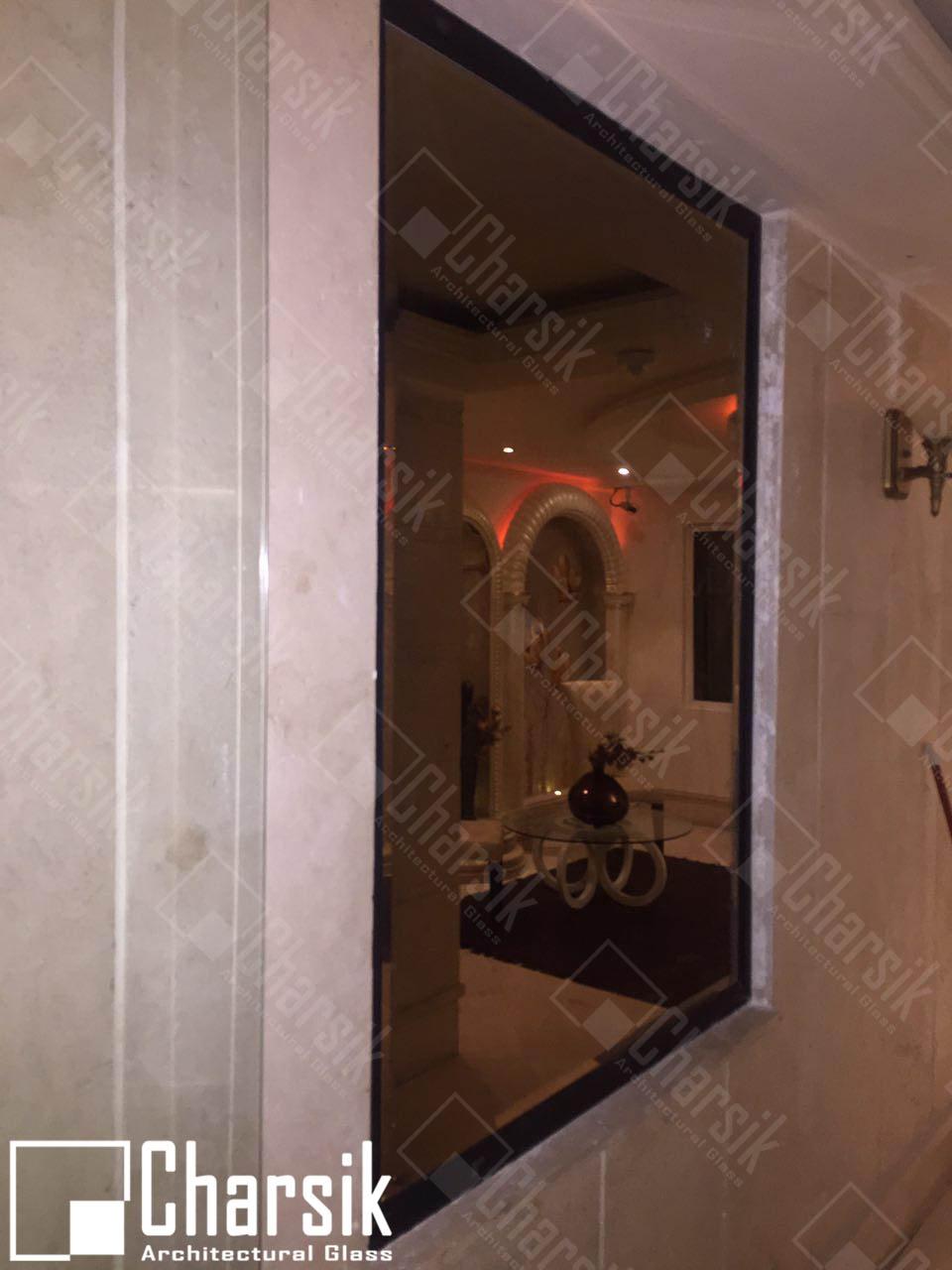 آینه تزئینی دیواری نیاوران چارسیک